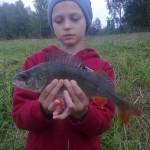 młodzież też łowi :-)